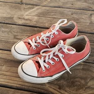 Converse All Star sneakers brick red size 9 unisex